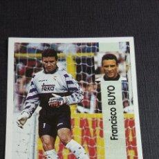 Coleccionismo Álbumes: LIGA 96/97 1996 1997 - PANINI - 96 BUYO - REAL MADRID ( NUNCA PEGADO ). Lote 121809255
