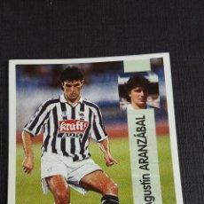 Coleccionismo Álbumes: LIGA 96/97 1996 1997 - PANINI - 102 ARANZÁBAL - REAL SOCIEDAD ( NUNCA PEGADO ). Lote 121809515