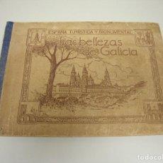 Coleccionismo Álbumes: 1018 - ALBUM ESPAÑA TURISTICA Y MONUMENTAL LAS BELLEZAS DE GALICIA JUAN GIL CAÑELLAS SIN CROMOS. Lote 121873875