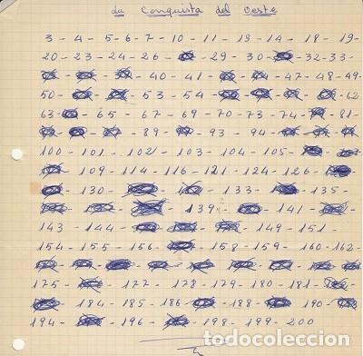 Coleccionismo Álbumes: LA CONQUISTA DEL OESTE - ALBUM DE CROMOS + CROMOS REPETIDOS - EDITORIAL BRUGUERA - Foto 3 - 121918071