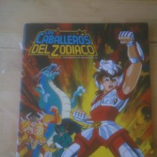 Coleccionismo Álbumes: ALBUM LOS CABALLEROS DEL ZODIACO; PANINI . Lote 122003607