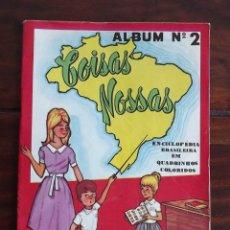 Coleccionismo Álbumes: 1967 ALBUM COISAS NOSSAS 2. FALTAN CROMOS. VER IMÁGENES DE TODAS LAS HOJAS. Lote 77866053