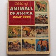 Coleccionismo Álbumes: 1956, ALBUM COMPLETO ANIMALS OF AFRICA DE DISNEY. Lote 78526701