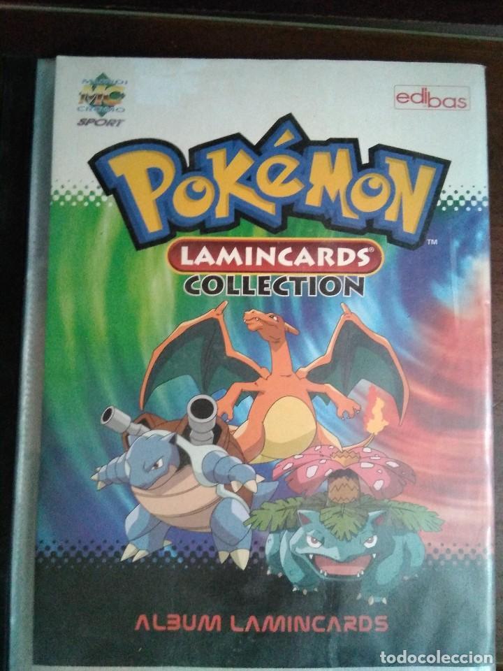 ALBUM POKEMON LAMINCARDS 2005, CON 3 FALTAS DE 150 CROMOS-CARTAS (Coleccionismo - Cromos y Álbumes - Álbumes Incompletos)