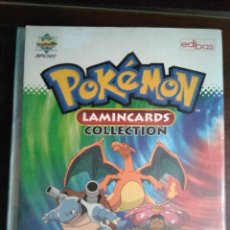 Coleccionismo Álbumes: ALBUM POKEMON LAMINCARDS 2005, CON 3 FALTAS DE 150 CROMOS-CARTAS. Lote 122442523