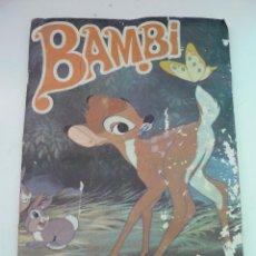 Coleccionismo Álbumes: ALBUM BAMBI DE FHER. Lote 122547911