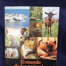 Coleccionismo Álbumes: ÁLBUM CROMOS COLECCIÓN EL MUNDO DE LOS ANIMALES EN TRES DIMENSIONES PANRICO AÑOS 70 80. Lote 122860747