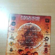 Coleccionismo Álbumes: LIGA ENDESA BALONCESTO, ALBUM DE DECIMOS LOTERIA NACIONAL DEL JUEVES, CON 2 CROMOS PEGADOS. Lote 122884727