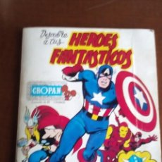 Coleccionismo Álbumes: DESCUBRE A TUS HEROES FANTASTICOS IIIIIOJO LEER DESCRIPCIONIIIIIII. Lote 73871655