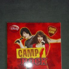 Coleccionismo Álbumes: ALBUM CAMP ROCK. EDITORIAL PANINI. Lote 123003091