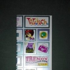 Coleccionismo Álbumes: ALBUM WITCH TRENDY STYLE STICKER BOOK. EDITORIAL PANINI. Lote 123032567