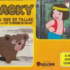 Colecionismo Cadernetas: ALBUM JACKY.EL OSO DE TALLAC.VACIO.. Lote 123780499