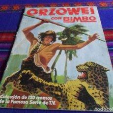 Coleccionismo Álbumes: ORZOWEI INCOMPLETO FALTAN 20 DE 120 CROMOS. BIMBO 1978. . Lote 124180207