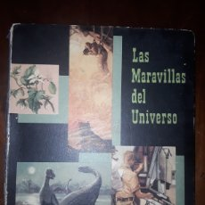 Coleccionismo Álbumes: LAS MARAVILLAS DEL UNIVERSO NESTLÉ ÁLBUM INCOMPLETO. Lote 124522648