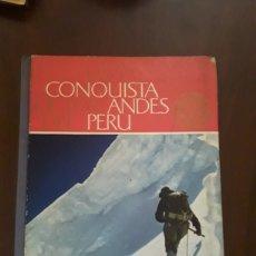 Coleccionismo Álbumes: LA CONQUISTA DE LOS ANDES DEL PERÚ NESTLÉ. Lote 124522806
