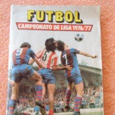 Coleccionismo Álbumes: FUTBOL.CAMPEONATO DE LIGA 1976/77. ED.ESTE,ÁLBUM DE CROMOS INCOMPLETO,CONTIENE 165 CROMOS.. Lote 125423955