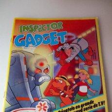Coleccionismo Álbumes: ANTIGUO ALBUM DE CROMOS EL INSPECTOR GADGET, DE YOPLAIT. CON 35 CROMOS Y JUEGO COMPLETO. BUEN ESTADO. Lote 126167339