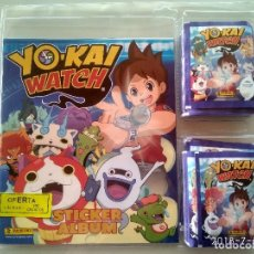 Coleccionismo Álbumes: YOKAY WATCH BLISTER CON ÁLBUM Y 50 SOBRES O 250 CROMOS PANINI . Lote 142151060