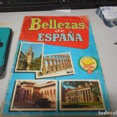 Coleccionismo Álbumes: ALBUM BELLEZAS DE ESPAÑA CON 120 CROMOS. Lote 128273443