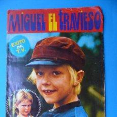 Coleccionismo Álbumes: MIGUEL EL TRAVIESO - ED. FHER - 1977 - LE FALTAN 20 CROMOS. Lote 128357627