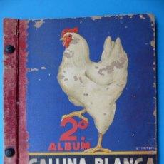 Coleccionismo Álbumes: 2º ALBUM GALLINA BLANCA - AÑO 1948 - VER DESCRIPCION Y FOTOS. Lote 128359711