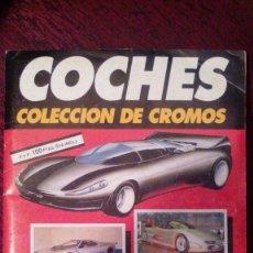 Coleccionismo Álbumes: COLECCIÓN DE CROMOS DE COCHES AUTOPISTA. Lote 128369107