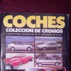 Coleccionismo Álbumes: COLECCIÓN DE CROMOS DE COCHES MOTOR 16. Lote 128369251
