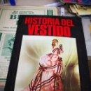 Coleccionismo Álbumes: ALBUM DE CROMOS VACÍO HISTORIA DEL VESTIDO, DE DIFUSORA DE CULTURA, PLANCHA. Lote 128627619