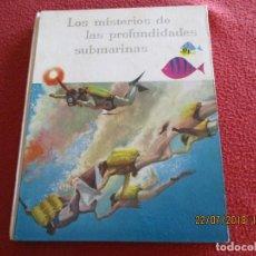 Coleccionismo Álbumes: LOS MISTERIOS DE LAS PROFUNDIDADES SUBMARINAS. ALBUN DE CROMOS NESTLÉ 1959.. Lote 128913431