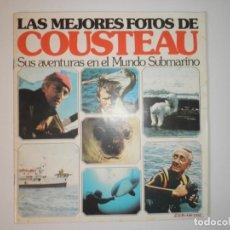 Coleccionismo Álbumes: ALBUM DE CROMOS LAS MEJORES FOTOS DE COSTEAU VACIO 1979. Lote 130425050