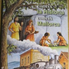Coleccionismo Álbumes: CONEIX LA HISTÒRIA. CONEIX MALLORCA, 1996. Lote 130430226