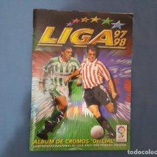 Coleccionismo Álbumes: ALBUM LIGA 97-98. Lote 130677479