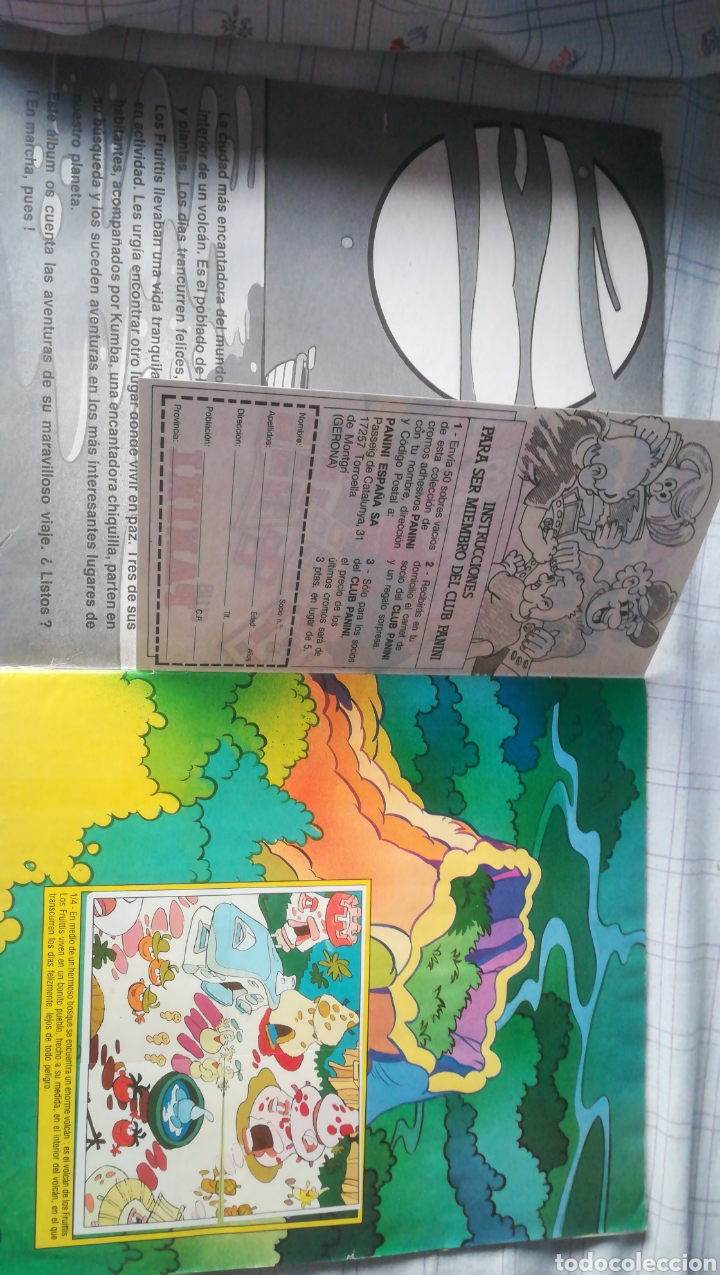 Fruittis Panini 10 sticker bolsas
