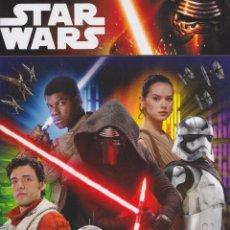 Coleccionismo Álbumes: ALBUM DE CROMOS STAR WARS DISNEY * NUEVO *. Lote 131668882