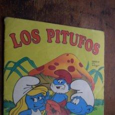 Coleccionismo Álbumes: LOS PITUFOS, PANINI, 1982, TIENE 109 CROMOS DE 180. Lote 132133622