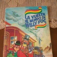 Coleccionismo Álbumes: ALBUM DANONE LA VUELTA AL MUNDO DE WILLY FOG FALTAN 9 CROMOS. Lote 132205309