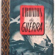 Coleccionismo Álbumes: CROMOS DE GUERRA, SERIE A - A FALTA DE DOS CROMOS - EDICIONES VICTOR - AÑO 1945. Lote 132389250