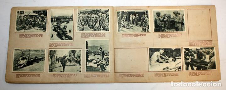Coleccionismo Álbumes: ALBUM LA GUERRA EN COREA 1 SERIE EDICIONES SIMA - Foto 6 - 132612750