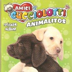 Coleccionismo Álbumes: ALBUM ANIMALITOS AMICI CUCCIOLOTTI. VACÍO. PANINI.. Lote 132904302