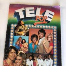 Coleccionismo Álbumes: ALBUM TELE POP (INCOMPLETO) THE POLICE, ABBA, LOS PECOS, JULIO IGLESIAS, PARCHIS, TRAVOLTA, BOSÉ. Lote 132939718