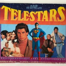 Coleccionismo Álbumes: TELE STARS. ÁLBUM DE ESTRELLAS. SUPERMAN, TRAVOLTA, CURRO JIMÉNEZ, J.DEL OSO, ENRIQUE Y ANA, GREASSE. Lote 132940542