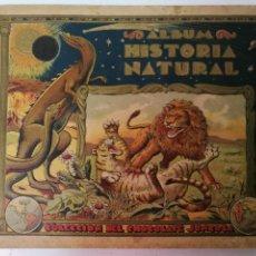 Coleccionismo Álbumes: HISTORIA NATURAL JUNCOSA, FALTAN 30 CROMOS. Lote 133023602