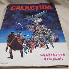 Coleccionismo Álbumes: ALBUM DE CROMOS GALÁCTICA, 1978, INCOMPLETO. Lote 133700166