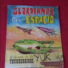 Coleccionismo Álbumes: GUARDIANES DEL ESPACIO COMPLETO A FALTA DE 5 CROMOS DE 162 CROMOS. FHER 1967 THUNDERBIRDS. DIFÍCIL. Lote 133808106