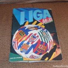 Coleccionismo Álbumes: ALBUM LIGA 84-85,CON 282 CROMOS. Lote 133808362