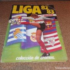Coleccionismo Álbumes: ALBUM LIGA 82-83,ED.ESTE,CONSTA DE 188 CROMOS. Lote 133875814