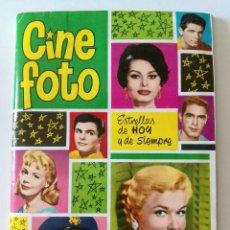Coleccionismo Álbumes: ALBUM CINE FOTO FALTA 1 CROMO. Lote 134063670
