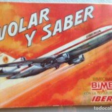 Coleccionismo Álbumes: VOLAR Y SABER BIMBO. Lote 134082226