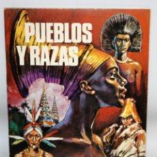 Coleccionismo Álbumes: ALBUM- PUEBLOS Y RAZAS-CHOCOLATES TORRAS.. Lote 134132754