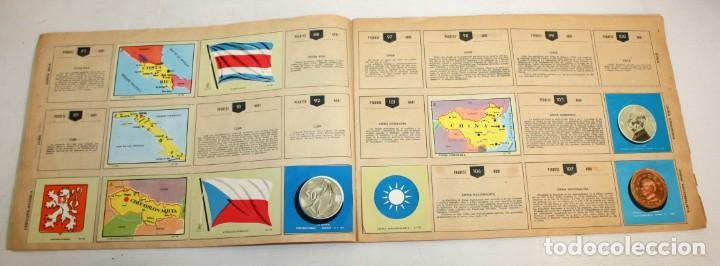 Coleccionismo Álbumes: COLECCIÓN UNIVERSAL-LIBRO DE BANDERAS-ESCUDOS-MONEDAS-MAPAS. - Foto 4 - 134133178